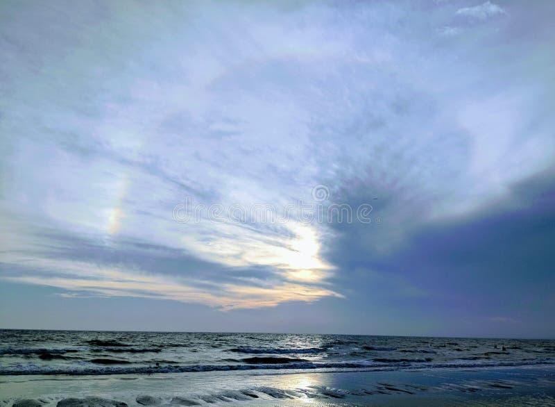 Praia de Fort Myers imagens de stock royalty free