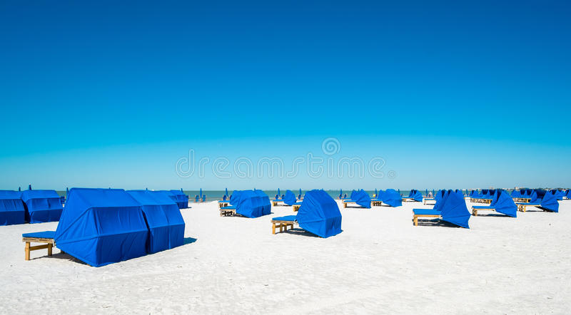Praia de Fort Myers fotografia de stock royalty free