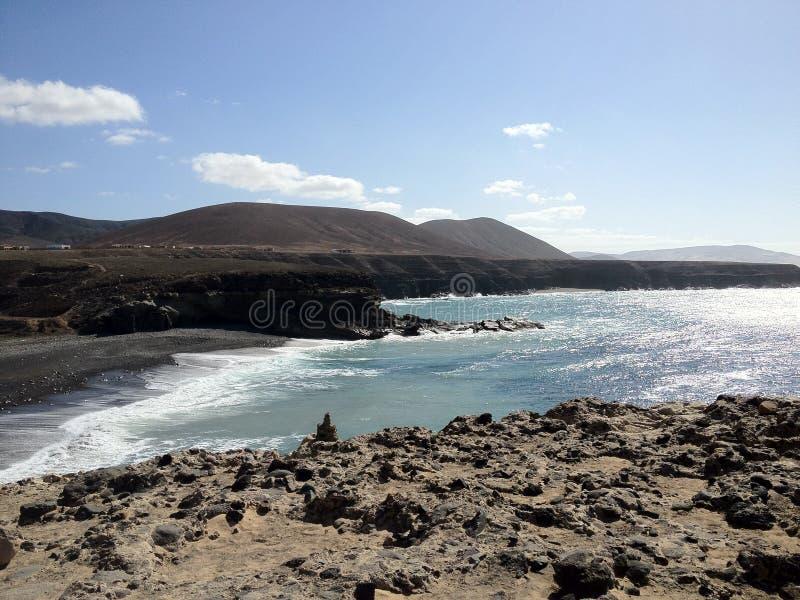 A praia de Fuerteventura foto de stock royalty free