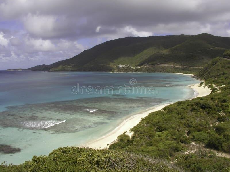 Praia de Gorda do Virgin fotografia de stock royalty free