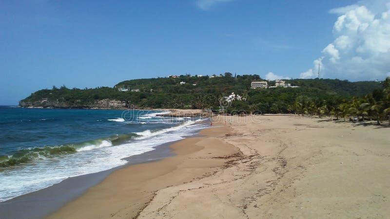 Praia de Guajataca imagem de stock royalty free