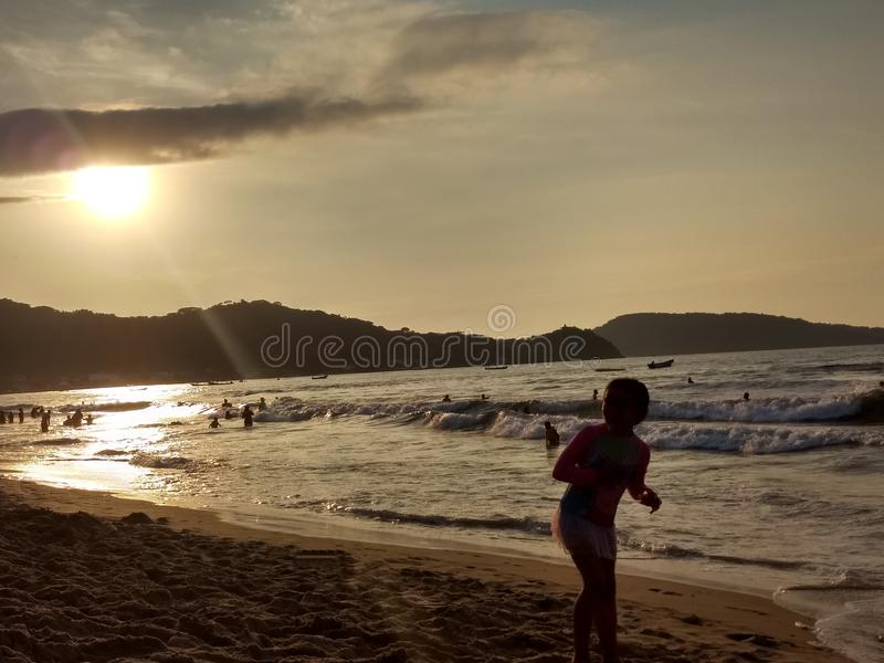 Praia de Guayabitos imagens de stock royalty free