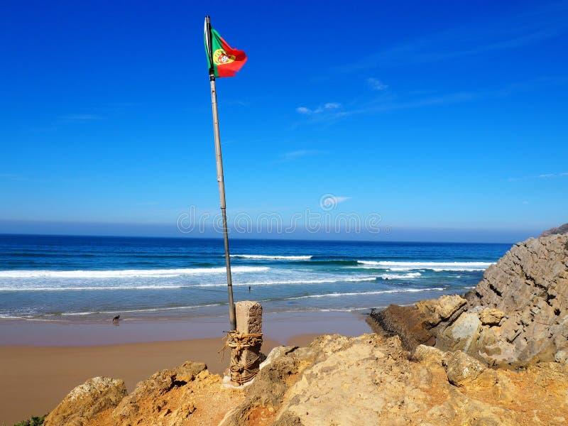 Praia de Guincho, Lagos, Portugal fotos de stock royalty free