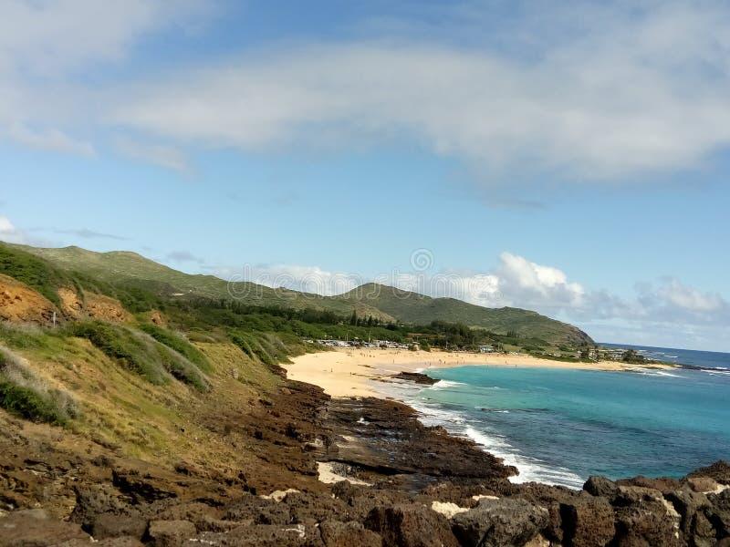 Praia de Honolulu fotografia de stock royalty free