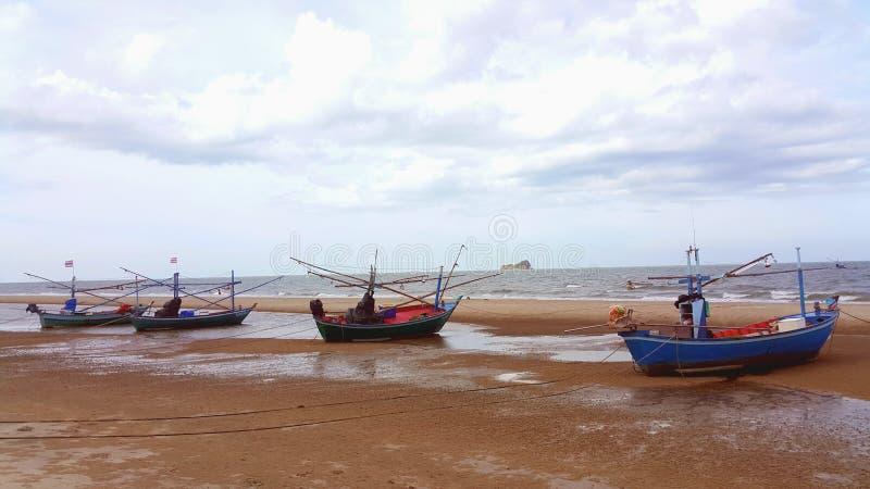 Praia de Hua Hin fotos de stock royalty free