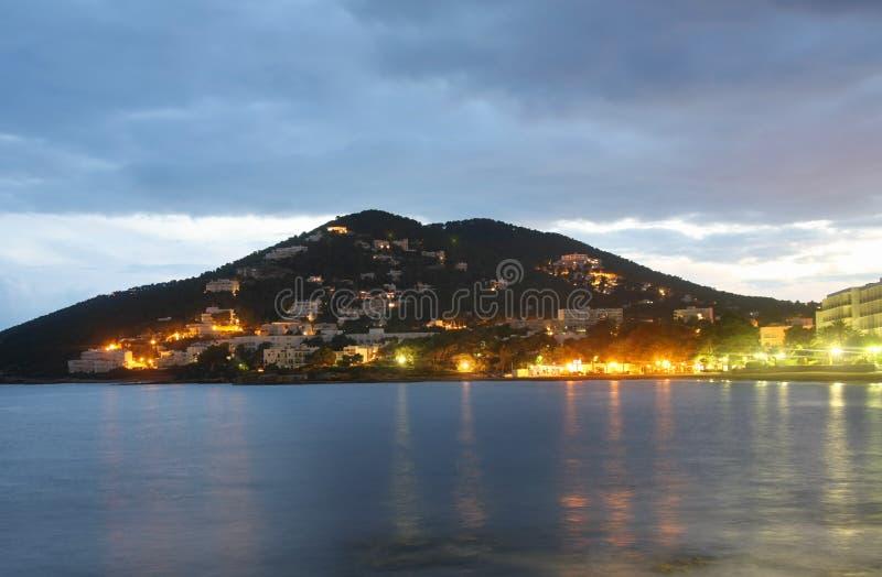 Praia de Ibiza fotografia de stock royalty free