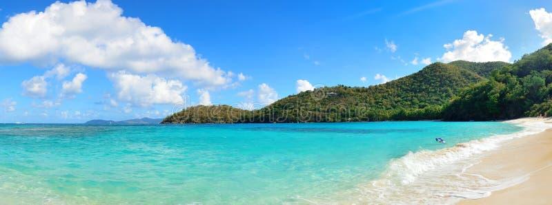 Praia de Ilhas Virgens imagem de stock royalty free
