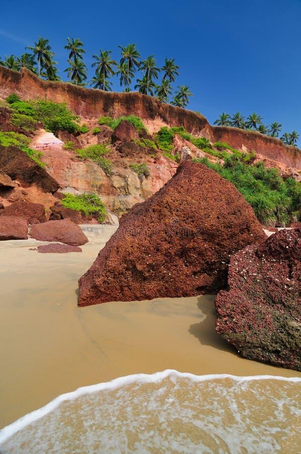 Download Praia de India imagem de stock. Imagem de objetivo, calmo - 12806281