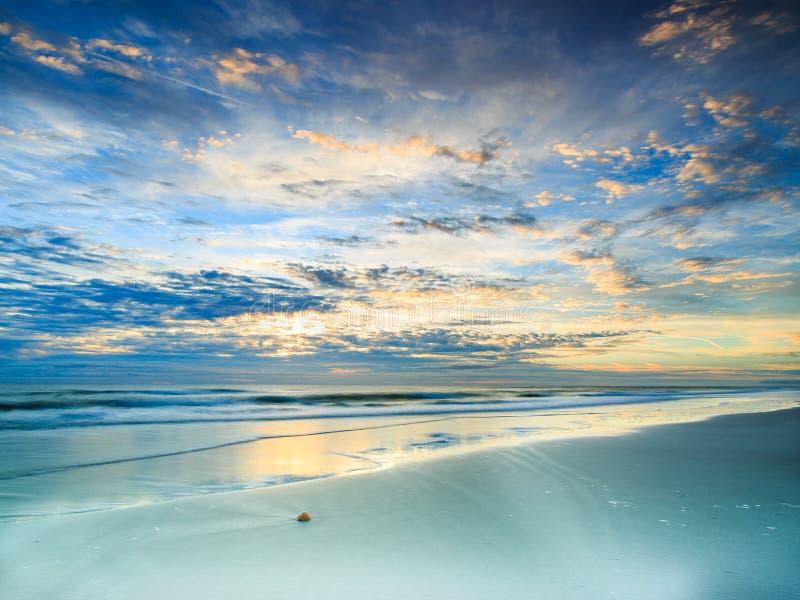 Praia de Jacksonville imagens de stock