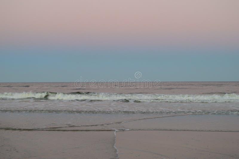 Praia de Jacksonville imagem de stock royalty free