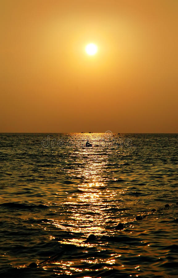 Praia de Karon imagens de stock royalty free