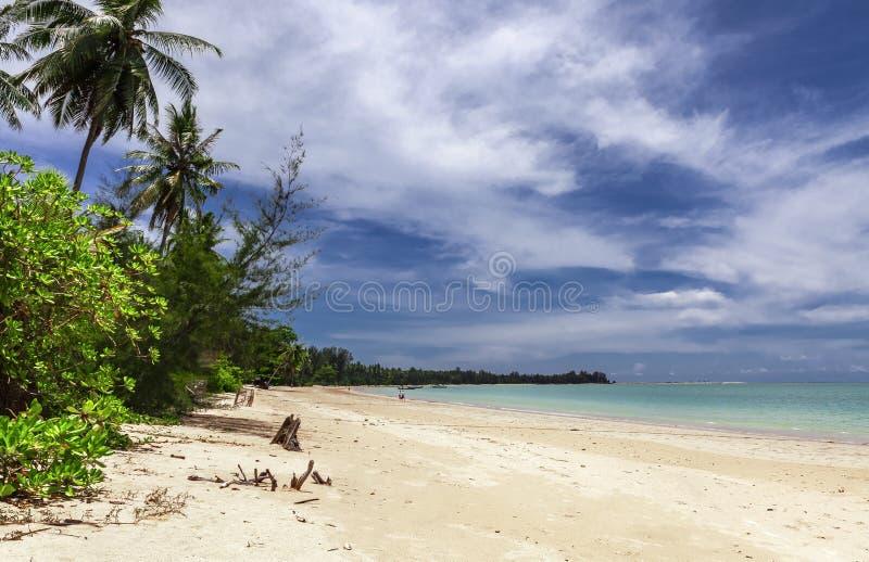 Praia de Khao Lak fotografia de stock