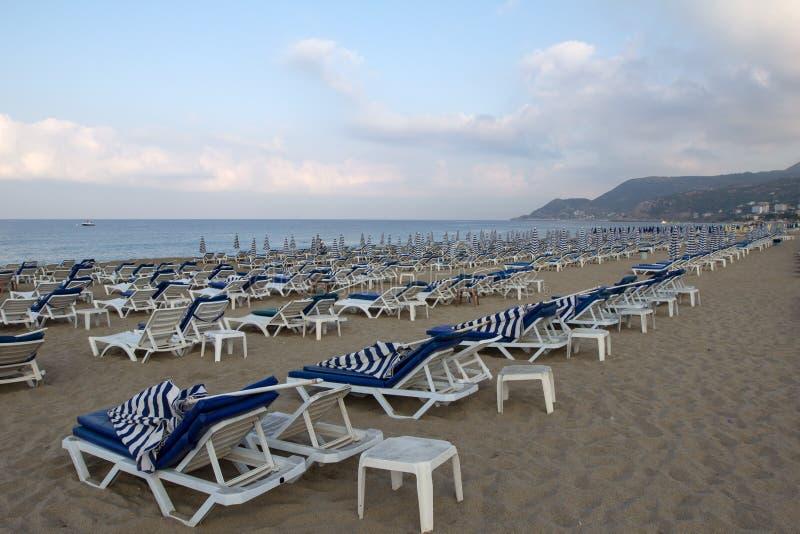 Praia de Kleopatra imagens de stock royalty free