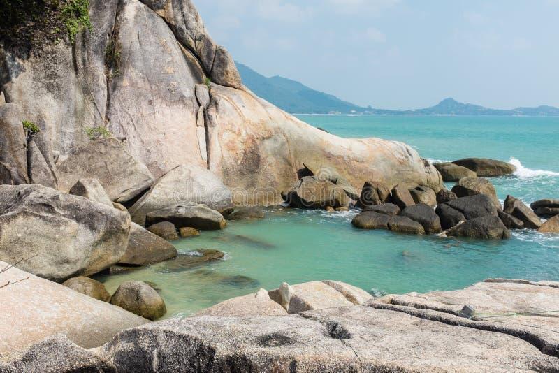 Praia de Lamai, Samui fotografia de stock