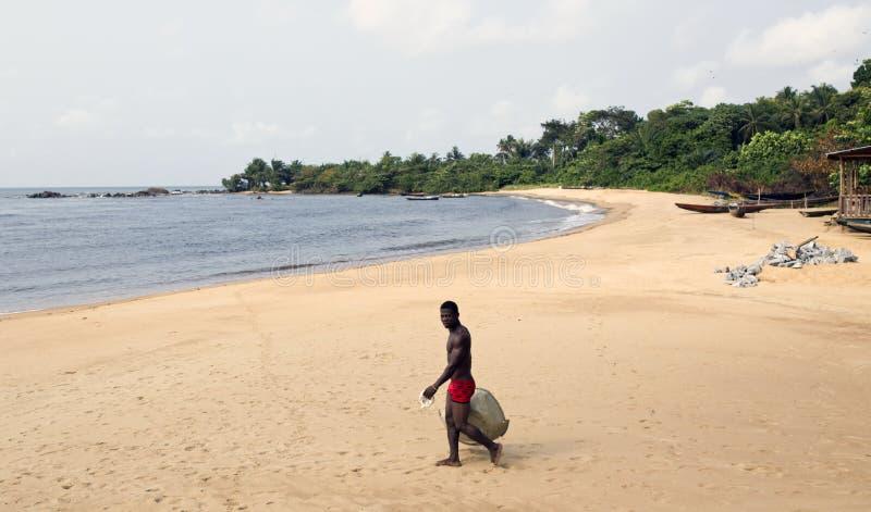 Praia de Limbe fotos de stock royalty free