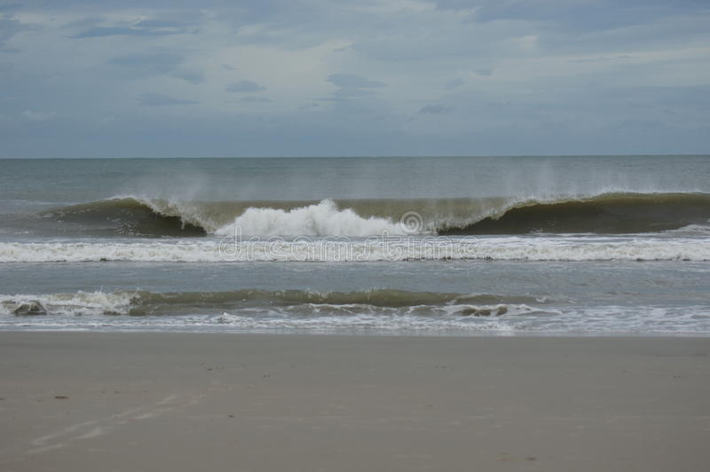 Praia de Litchfield, SC fotografia de stock royalty free