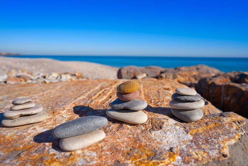 Praia de Llosa do La em Castellon da Espanha imagem de stock royalty free
