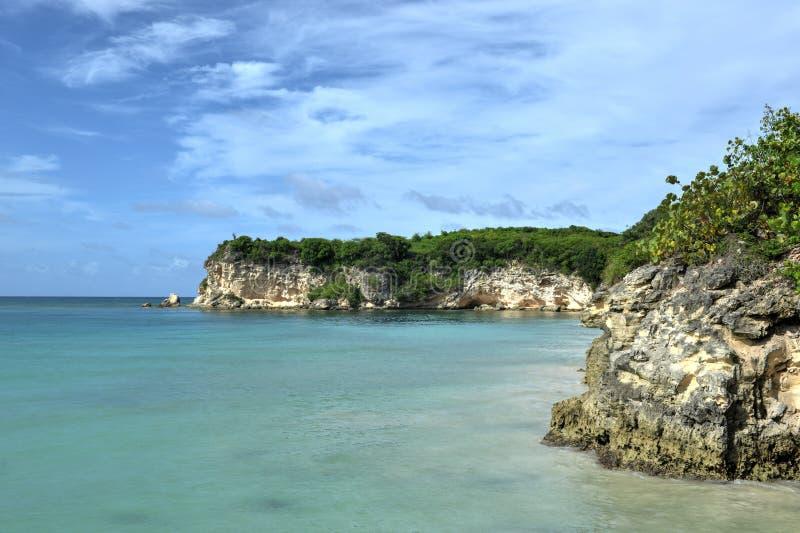 Praia de Macau, Punta Cana, República Dominicana fotografia de stock royalty free