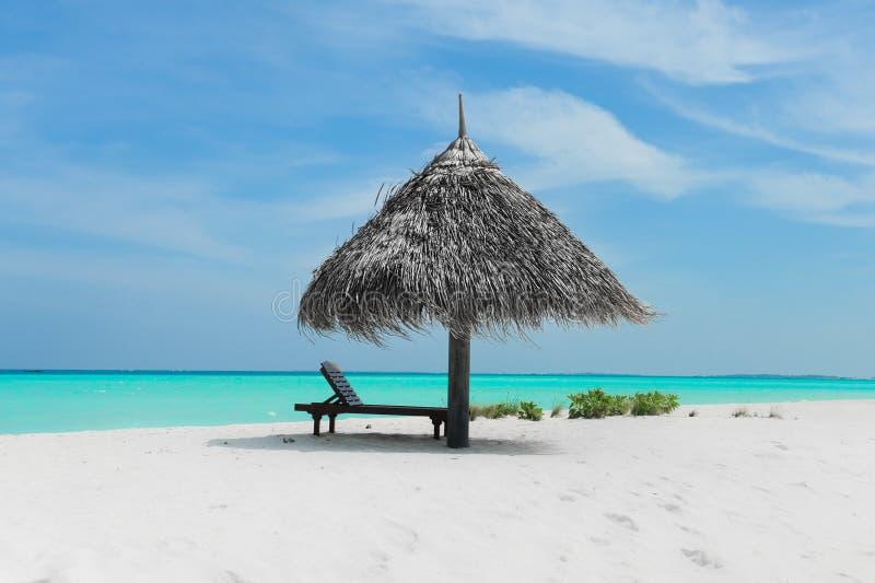 Praia de Maldivas fotos de stock royalty free
