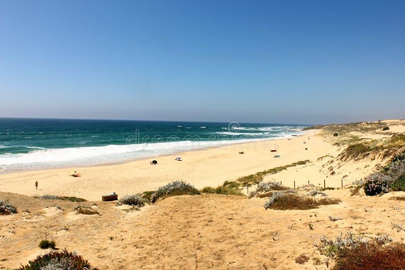 Praia de Malhao, o Alentejo, Portugal fotografia de stock royalty free