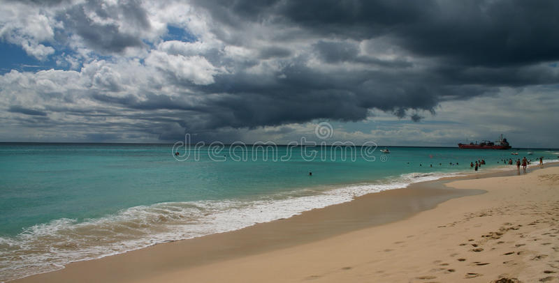 Praia de Malibu fotos de stock royalty free