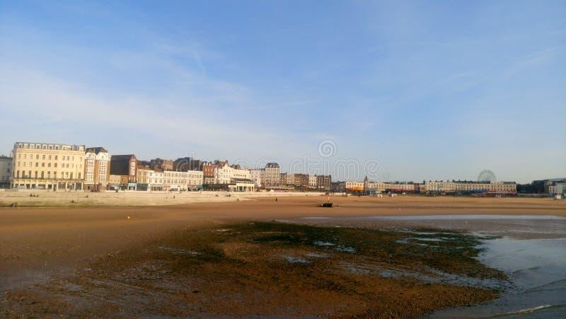 Praia de Margate foto de stock royalty free