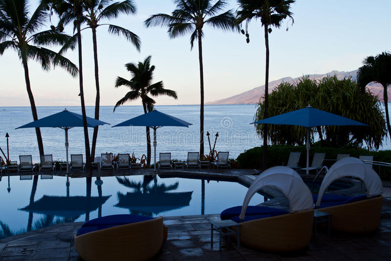 Praia de Maui Havaí imagens de stock royalty free