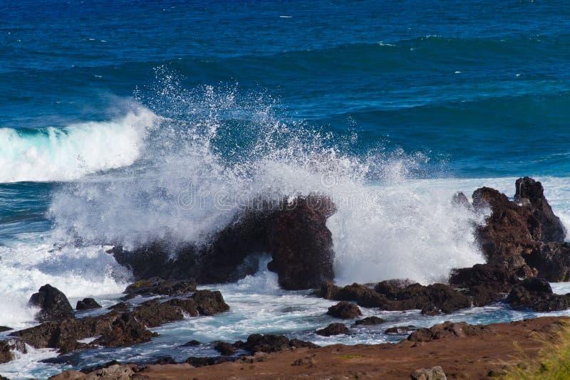 Praia de Maui Havaí foto de stock