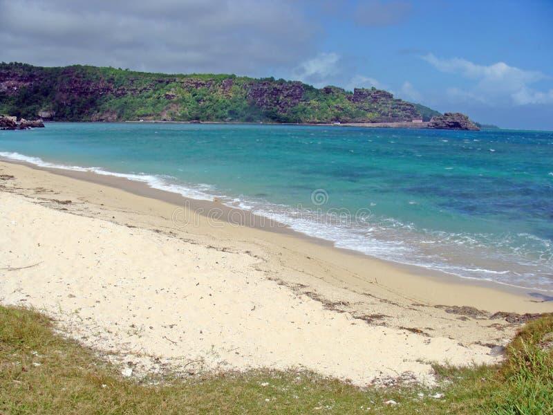 Praia de Maurutius foto de stock royalty free