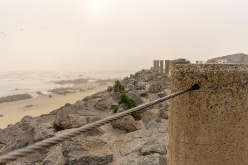Praia de Monterey fotos de stock royalty free