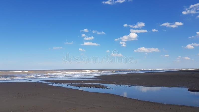 Praia de Mundelsley imagens de stock