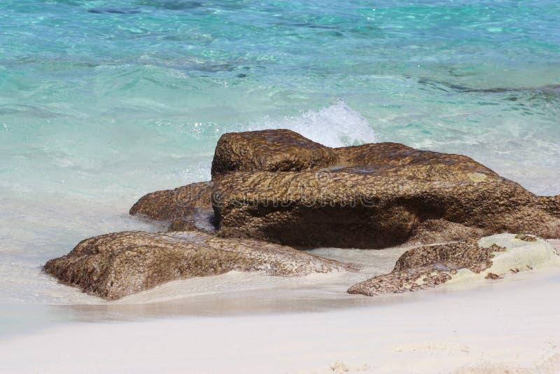 Praia de Nassau Bahamas imagem de stock royalty free