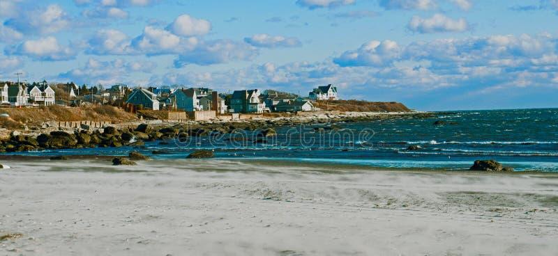Praia de Newport fotografia de stock royalty free