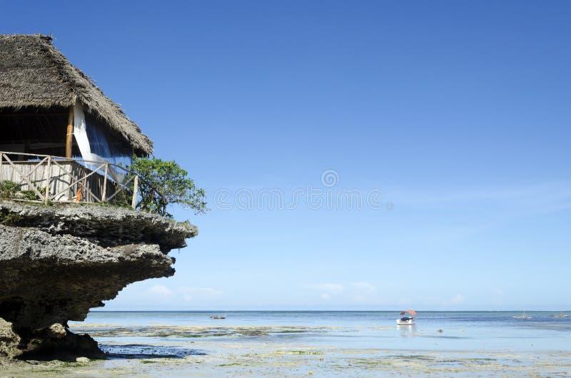Praia de Nungwi imagens de stock
