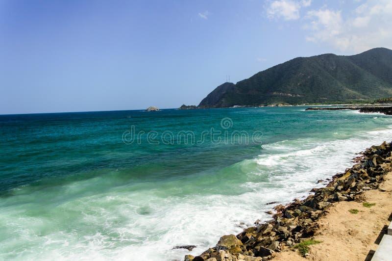 Praia de Ocumare imagem de stock royalty free