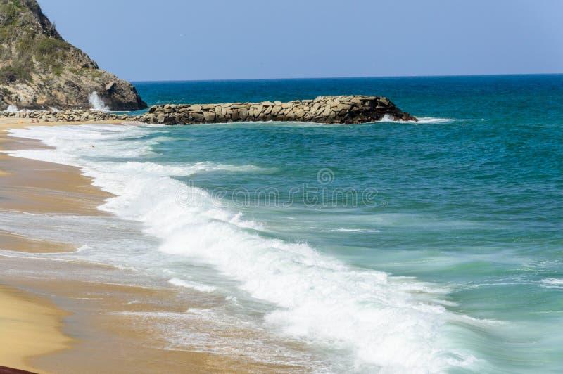 Praia 2 de Ocumare foto de stock royalty free