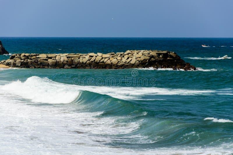 Praia 4 de Ocumare foto de stock