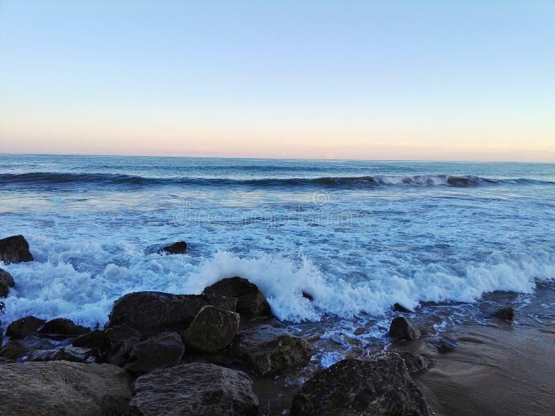 Praia de Odisha Gopalpur fotografia de stock royalty free