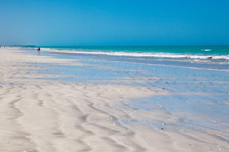 Praia de oitenta milhas imagem de stock