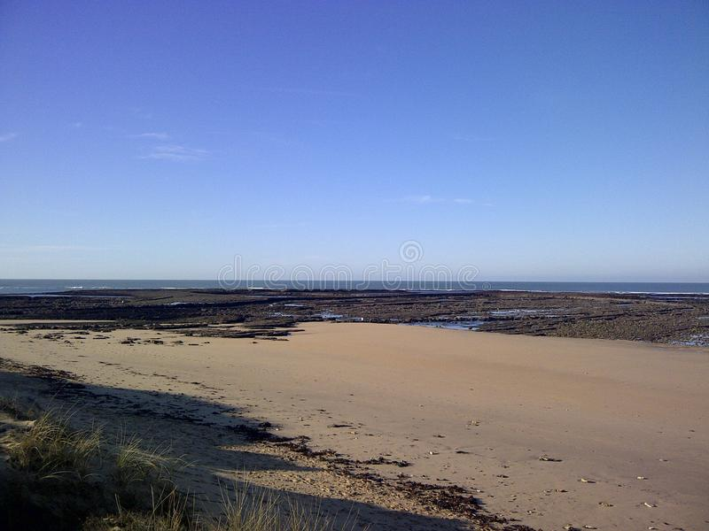Praia de Oleron foto de stock royalty free