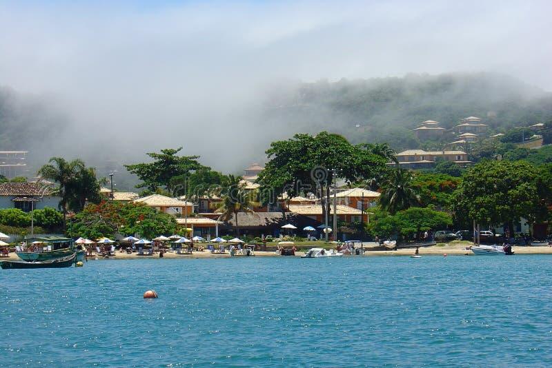 Praia de Ossos imagem de stock royalty free