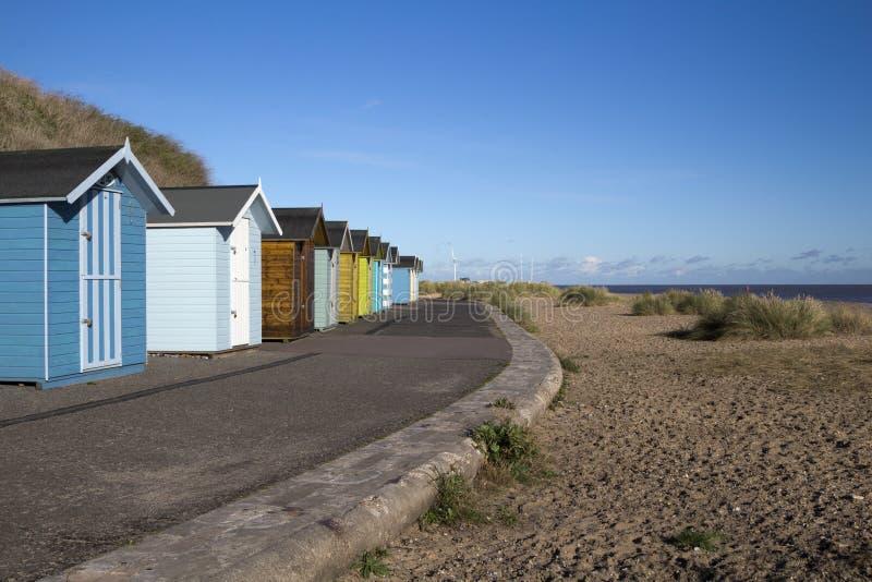 Praia de Pakefield, Suffolk, Inglaterra fotografia de stock royalty free
