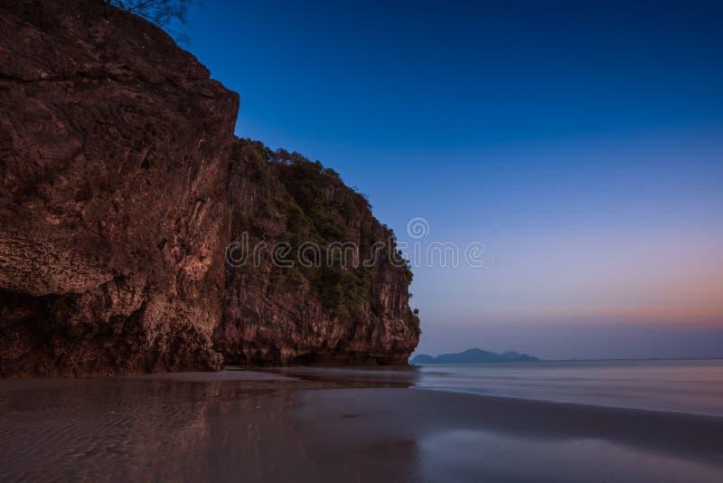 Praia de Pakmang, Sikao, Trang, Tailândia imagem de stock