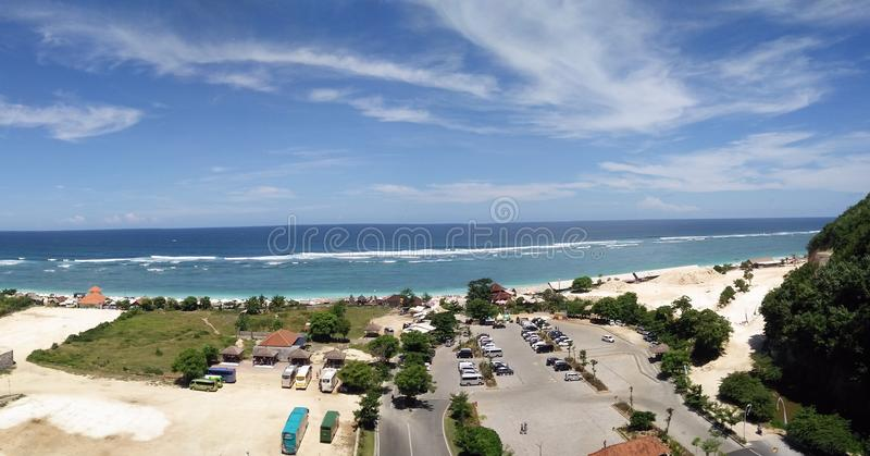 Praia de Pandawa imagem de stock