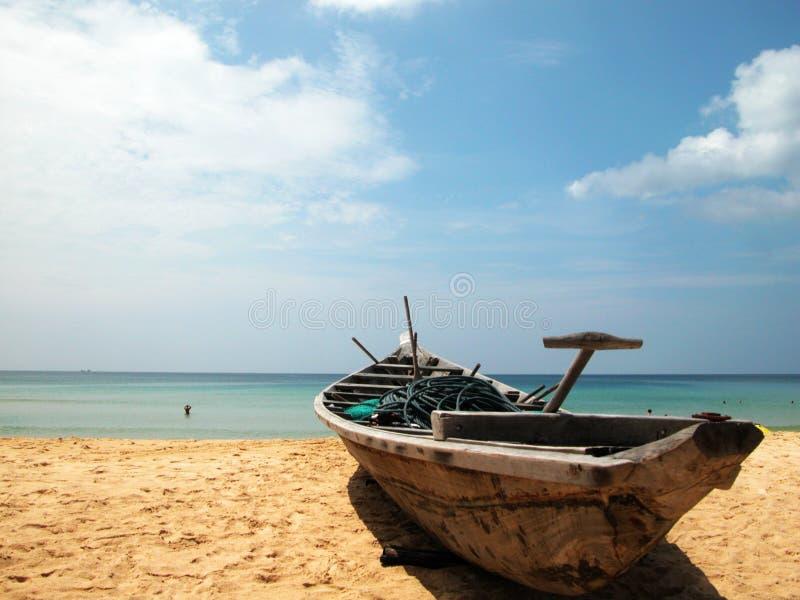 Praia de Patong de Phuket imagem de stock royalty free