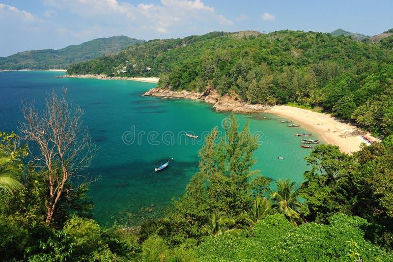 Praia de Phuket, Tailândia imagem de stock royalty free