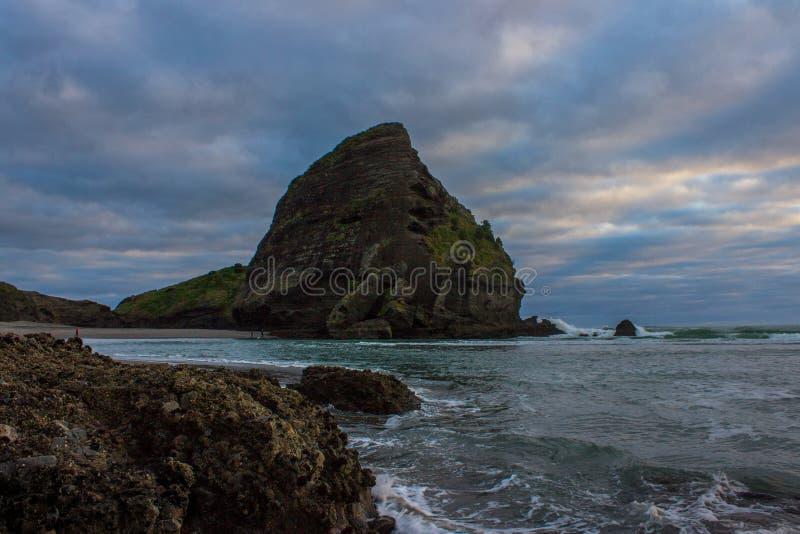 Praia de Piha fotos de stock royalty free