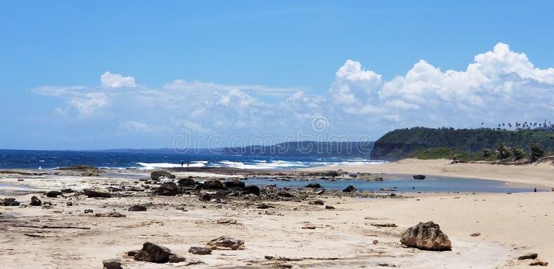 Praia de Playuela imagens de stock