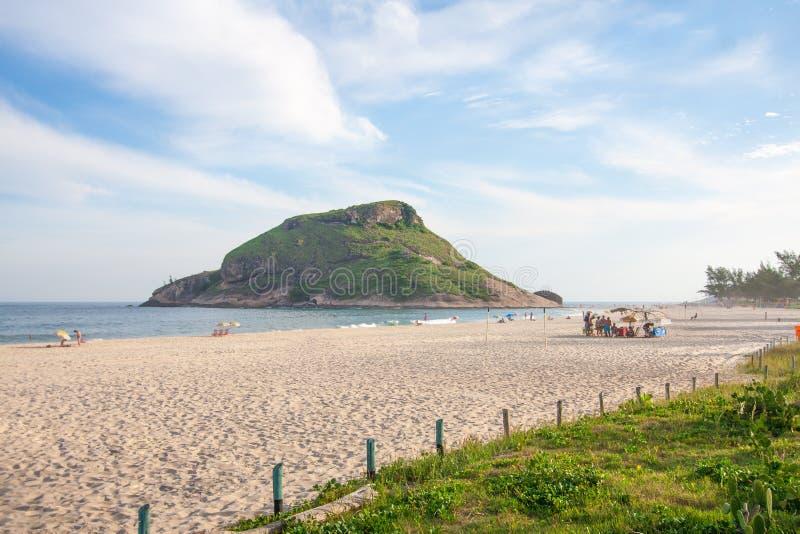 Praia de Pontal no Rio foto de stock