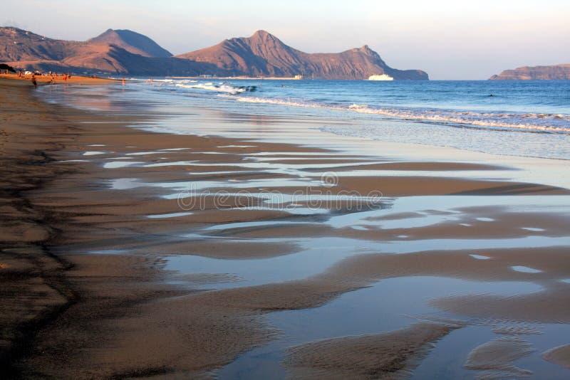 Praia de Porto Santo fotos de stock royalty free